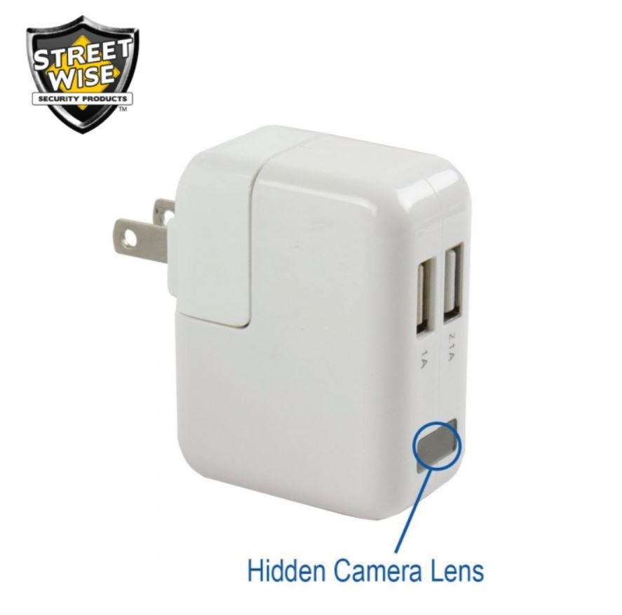 Usb Block Charger Hidden Camera And Recorder