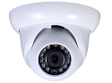 Infrared Eyeball IP Camera with 720p Resolution