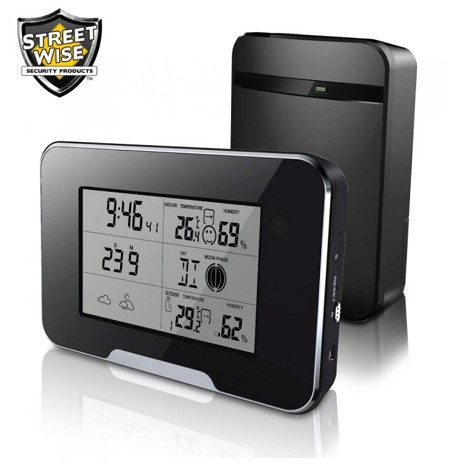Hidden Camera Wi-Fi Weather Station and Recorder