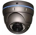 Vandal Proof Color IR Dome Camera with Varifocal Lens