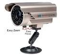 Infrared Outdoor Surveillance Camera with WDR & OSD