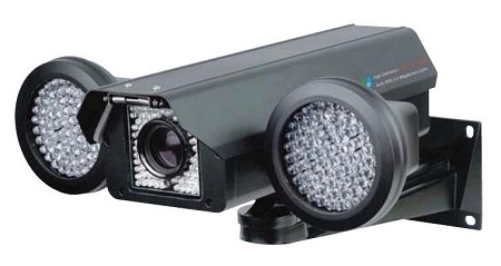 Long Range Infrared Camera with 6-96mm Motorized Lens