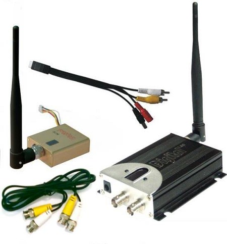 1280MHz 800mW A/V Transmitter and Receiver