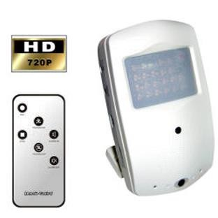 Motion Detector Hidden Camera and DVR