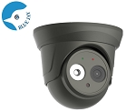 5MP Infrared IP Dome Camera with Wide Angle Lens - Gray