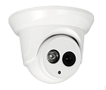 4K 8MP IR Dome Camera with 2.8mm Wide Angle Lens