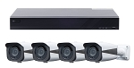 8 Channel HD Bullet Camera Surveillance System