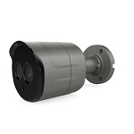 4K 8MP IR Bullet Camera with 2.8mm Lens - Gray