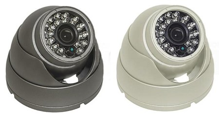 HD Infrared Dome Camera with wide Angle Lens