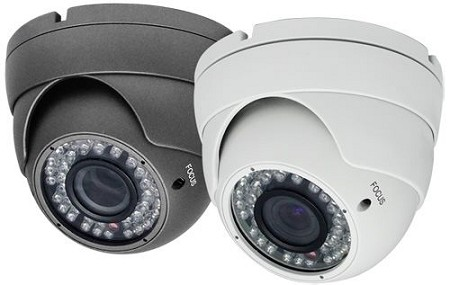 HD-TVI 1080p IR Dome Camera with Varifocal Lens