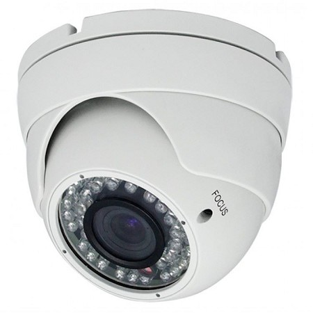 AHD Varifocal Dome Camera with IR