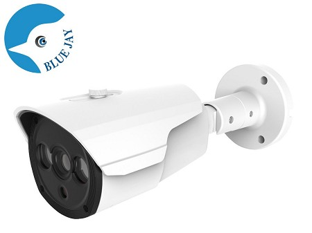 Long Range Infrared Wide Angle 5MP IP Bullet Camera