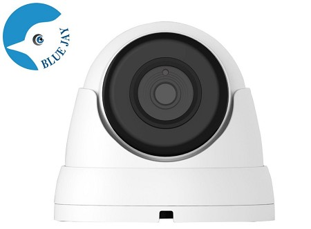 Small 2MP Infrared IP Dome Camera with 2.8mm Wide Angle Lens
