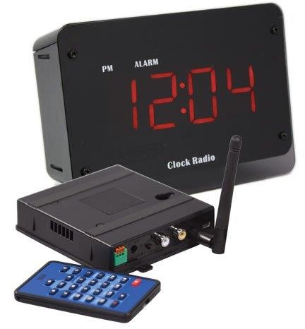 Wireless Clock Camera with Invisible LED Night Vision