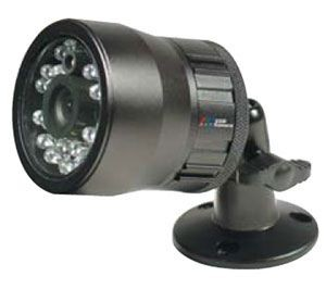 Infrared Color Security Camera and Audio