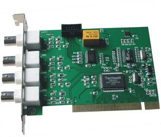 DR3004F - 4 Channel DVR Card