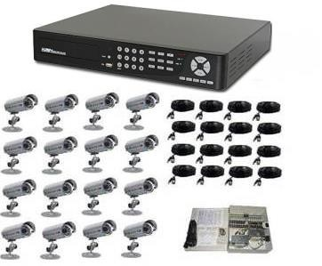 16 Channel DVR Surveillance System with IR Cameras
