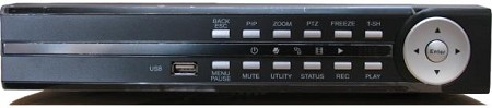 4 Channel Security DVR with H.264 Compression