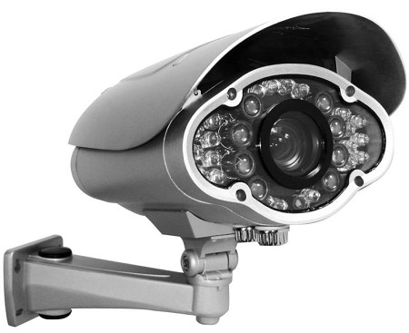 Long Range IR Security Camera with varifocal 5mm~50mm Lens
