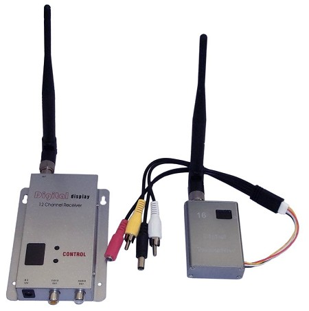 700mW 1.2 GHz Wireless Transmitter Set