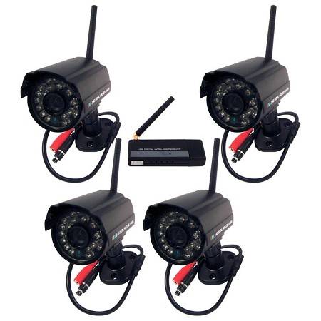 Digital Wireless Night Vision Cameras