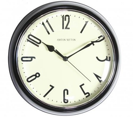 Traditional Wall Clock DVR Camera - 30 Hour Battery